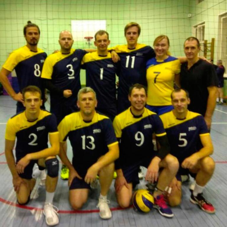 волейбол команда КВЛ ТЕМП